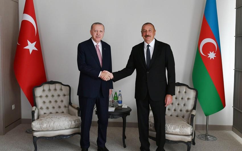 One-on-one meeting between Azerbaijani and Turkish leaders underway in Shusha