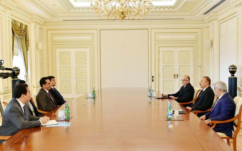 Президент Ильхам Алиев принял делегацию Малайзии во главе с руководителем компании Petronas