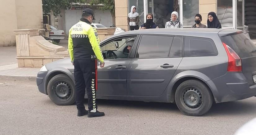 Дорожная полиция провела рейд в Билясуваре