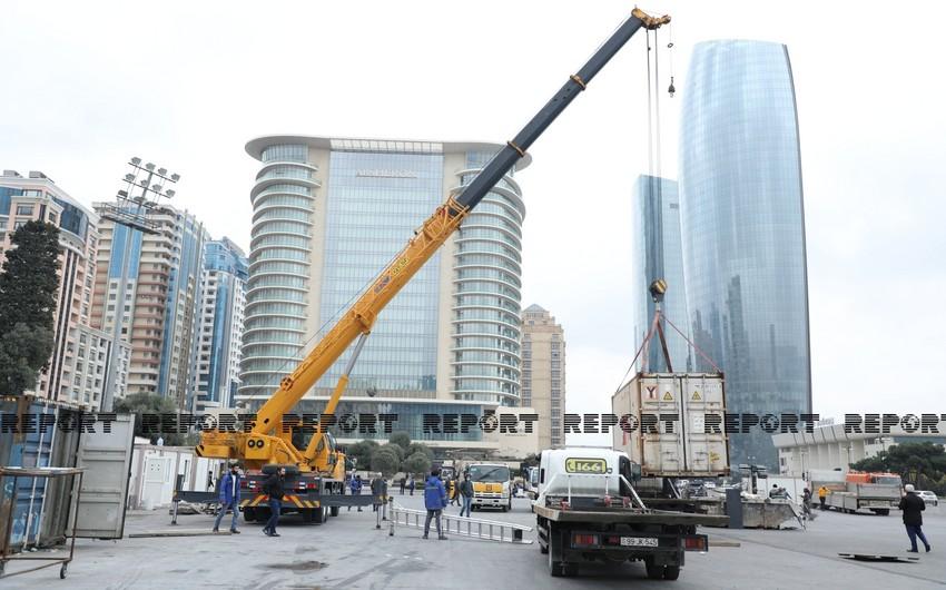 Baku preparing for military parade
