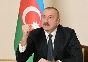 İlham Əliyev: Biz Paşinyanın deyil, Köçəryan ilə Sarqsyanın ordusunu məhv etdik