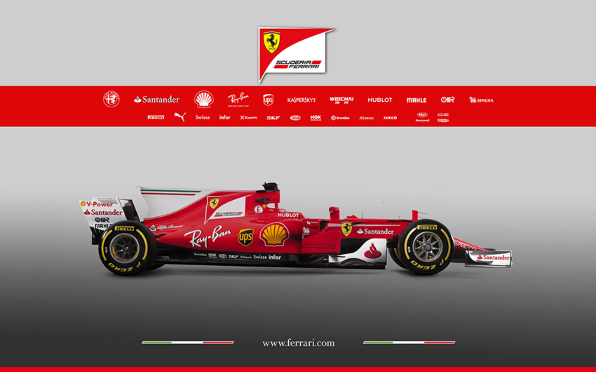 Ferrari yeni Formula-1 mövsümü üçün avtomobilini təqdim edib