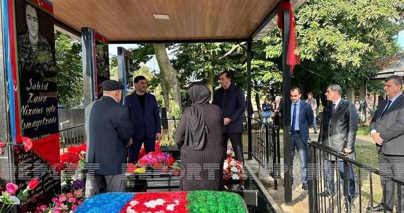 В Лянкяране почтили память шехидов Отечественной войны