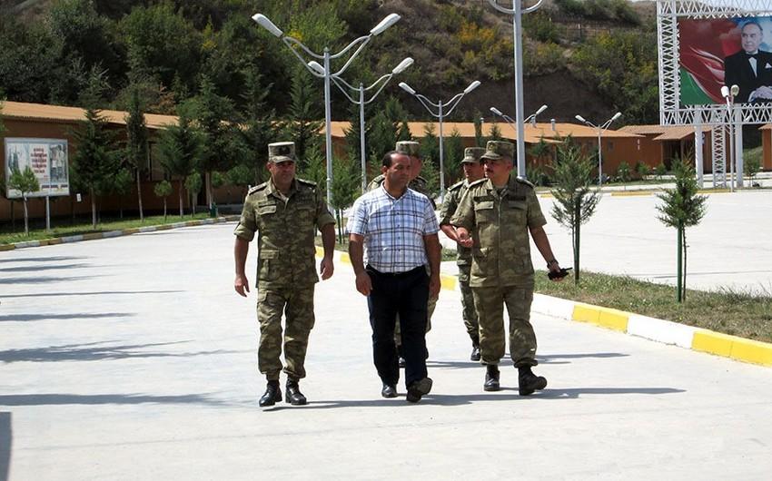 Ombudsman Aparatının nümayəndəsi cəbhəboyu zonada yerləşən hərbi hissələrdə olub