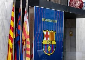 Barselonanın ofislərinə polis girdi