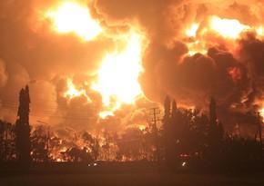 İndoneziyada neftayırma zavodunda yanğın olub, 28 nəfər yaralanıb