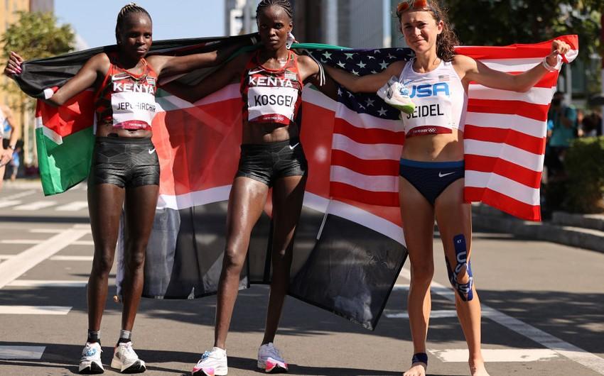 Tokio-2020: Qadınlar arasında marafonun qalibi məlum olub