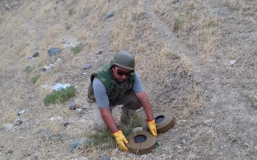 ANAMA: Ötən ay 312 partlamamış hərbi sursat, 4 tank əleyhinə mina aşkarlanaraq zərərsizləşdirilib