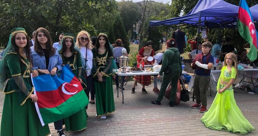 """Azərbaycanlılar Ukraynada yeni """"ETNO-WEEKEND"""" festivalında təmsil olunub"""