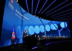 Azərbaycanın mərhum futbol xadimləri UEFA Konqresində anıldı - FOTO
