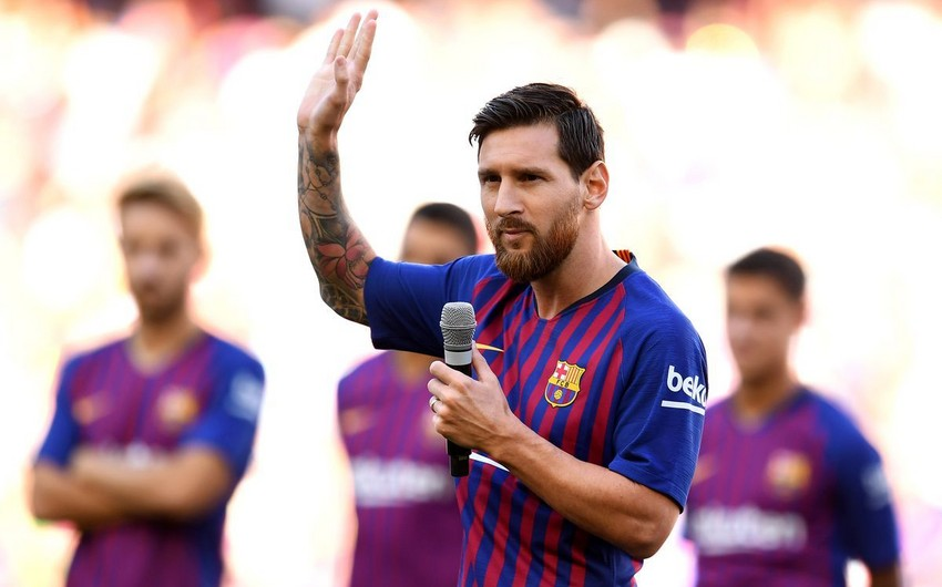 Messi yeni mövsümdə Barselonanın əsas hədəfini açıqlayıb
