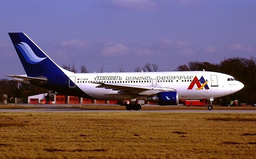 Ermənistanın aviaşirkəti İrana uçuşları dayandırıb