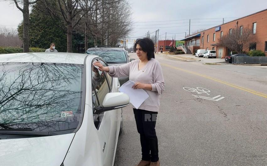 ABŞ-ın Şimali Karolina ştatında Xocalı soyqırımı ilə bağlı məlumatlandırma aksiyası keçirilib