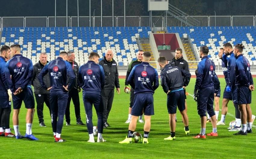 Kosovolu futbolçu: Azərbaycanla görüşə istirahət üçün çıxacağımıza inanıram