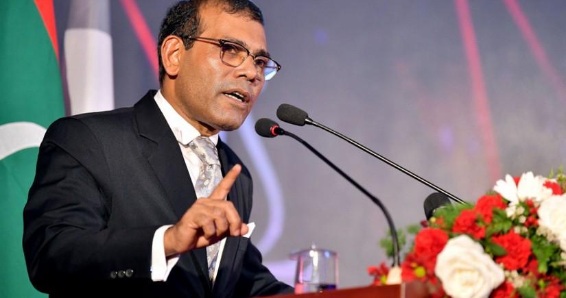 Maldiv parlamentinin sədri partlayış zamanı xəsarət alıb