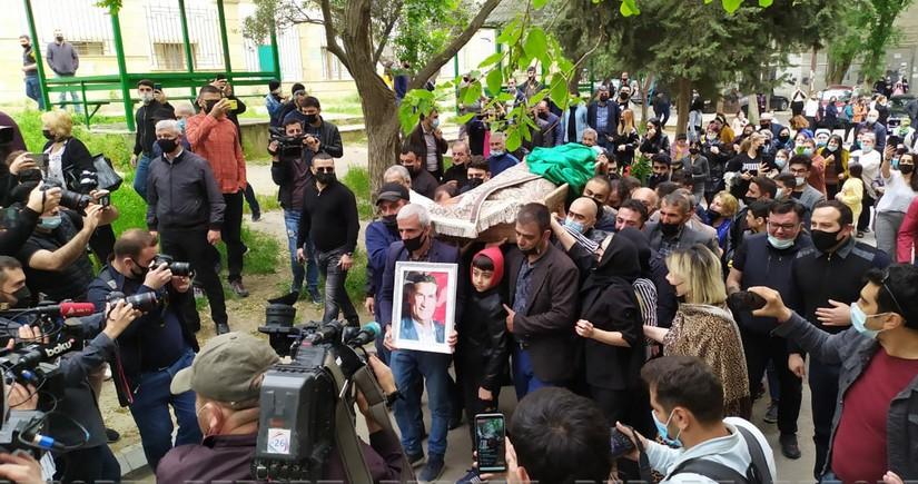 Arif Quliyev dəfn olunub - YENİLƏNİB - 2