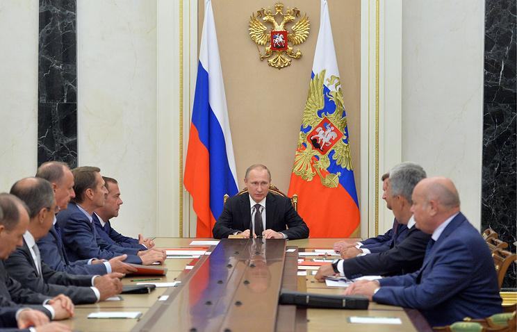 Results of meeting of Presidents of Azerbaijan, Russia and Iran discussed at meeting of  Russian Security Council