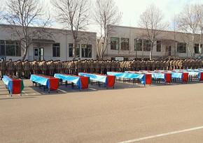 В Азербайджанской Армии состоялись церемонии принятия военной присяги
