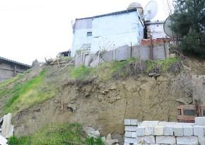 Bakının Zığ qəsəbəsindəki sürüşmə sahəsində yerləşən 56 fərdi ev söküləcək