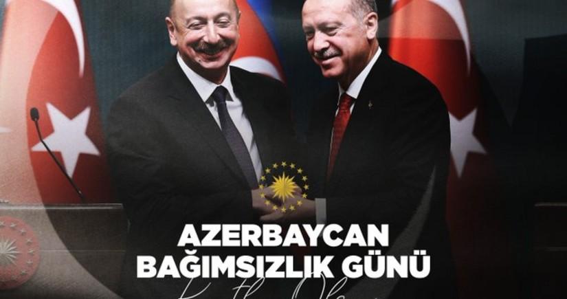 Erdoğan congratulates Azerbaijan on Independence Day