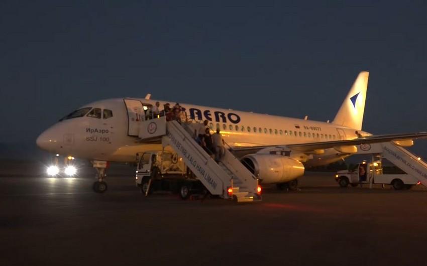 Российская компания запустила рейс по маршруту Нахчыван-Гянджа-Нахчыван