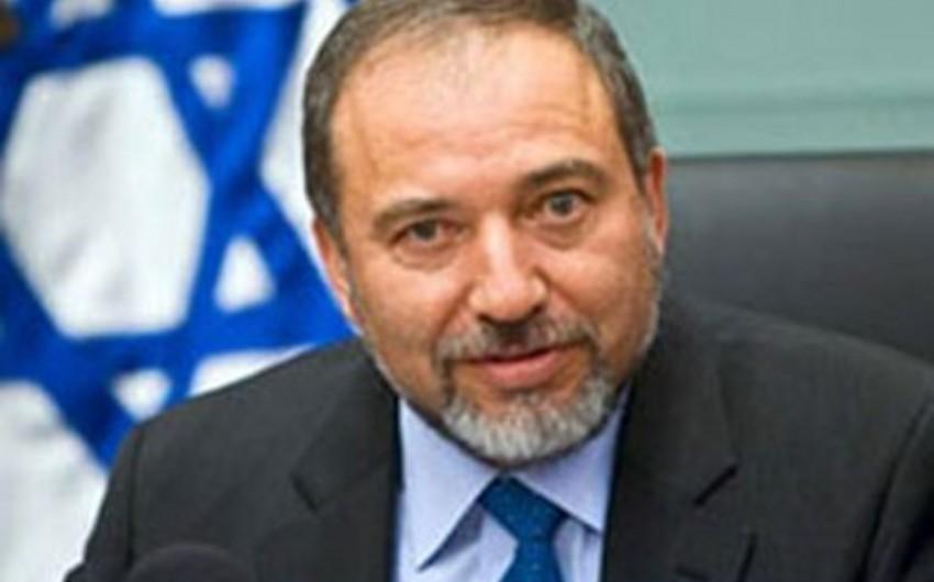 İsrailin müdafiə naziri istefa verdiyini açıqlayıb