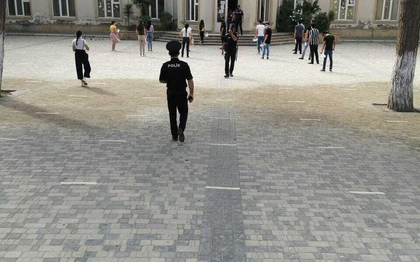 Bakı polisindən buraxılış imtahanlarının təşkili barədə daha bir açıqlama