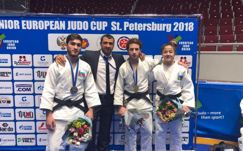 Sankt-Peterburqda keçirilən Avropa kuboku yarışında gənc cüdoçularımız 5 medal qazanıblar