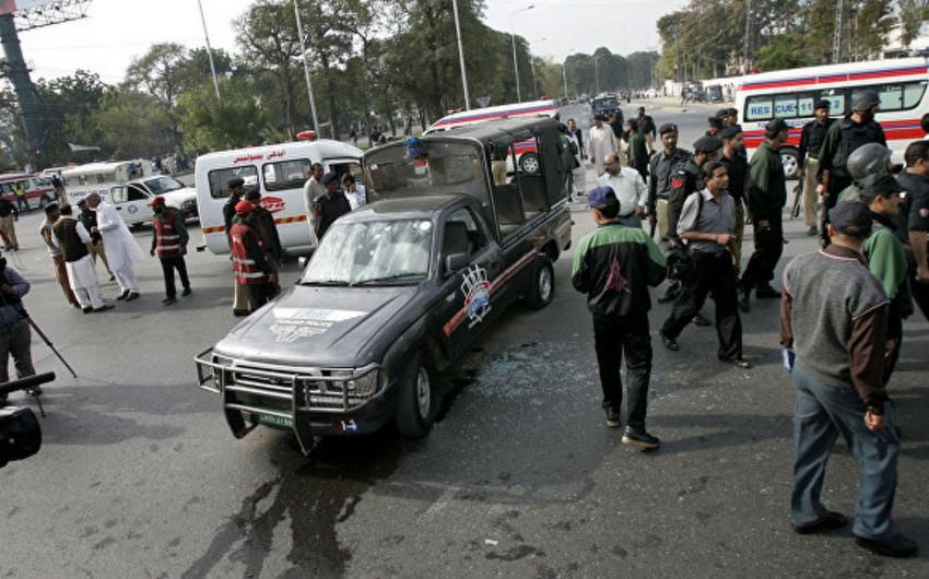 Pakistanda partlayış olub, 10 nəfər ölüb, 8 nəfər yaralanıb - VİDEO