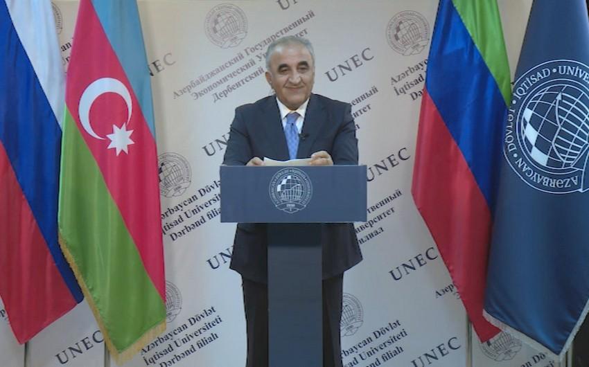 UNEC-in Dərbənd filialının rəsmi açılışı olub - VİDEO