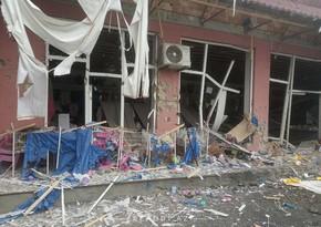 Armenians fire more than 400 shells at Tartar, destroying 10 houses