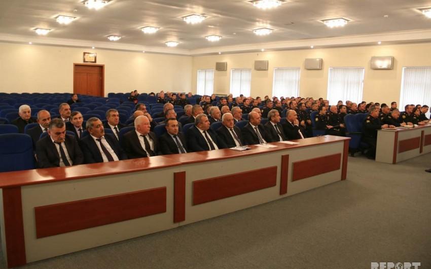 MSK Gəncədə polis üçün seminar keçirib - YENİLƏNİB