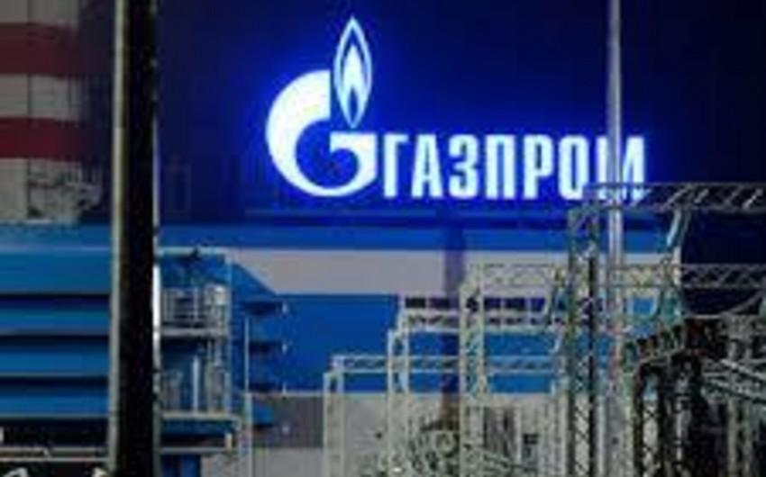"""Gazprom""""un təbii qaz ixracından gəliri 51% azalıb"""