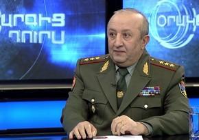 """Erməni general: """"Ermənistan Müdafiə Nazirliyinin döyüşlərlə bağlı məlumatlarının 100 %-i yalan idi"""""""