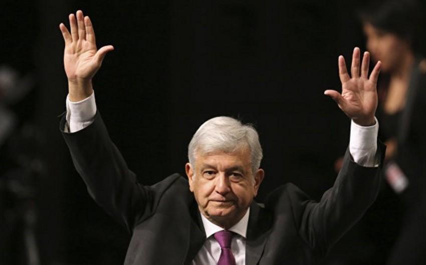 Meksikada keçirilən prezident seçkilərində Lopes Obrador lider olub