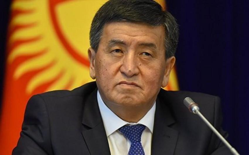 Жээнбеков прокомментировал штурм дома Атамбаева