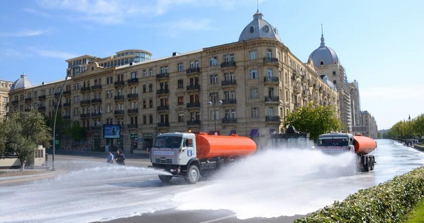 Baku to conduct enhanced disinfection works tomorrow