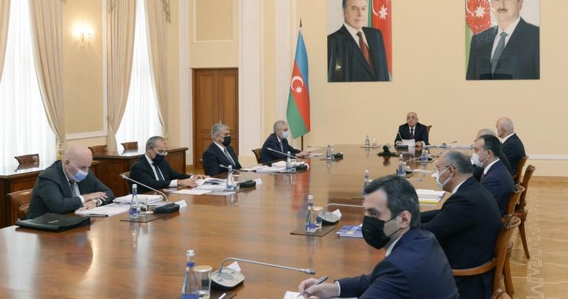 На расширенном заседании Кабмина Азербайджана обсужден проект госбюджета