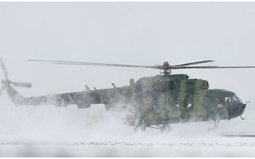 Helicopter with 19 people on board crash lands in Russia