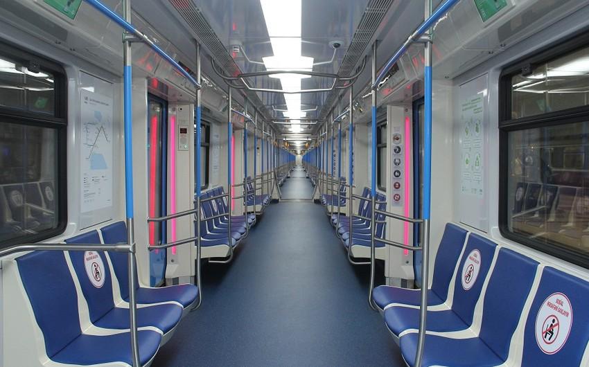 Bakı metrosunda xəttə yeni qatarlar buraxılır