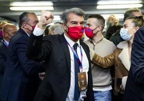 Жоан Лапорта стал новым президентом Барселоны