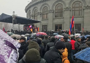 Armenia: opposition trembling at thought of elections, liers at power