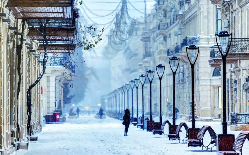 В Баку выпадет снег, дороги заледенеют