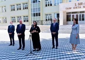В Сумгайыте состоялось открытие нового здания школы