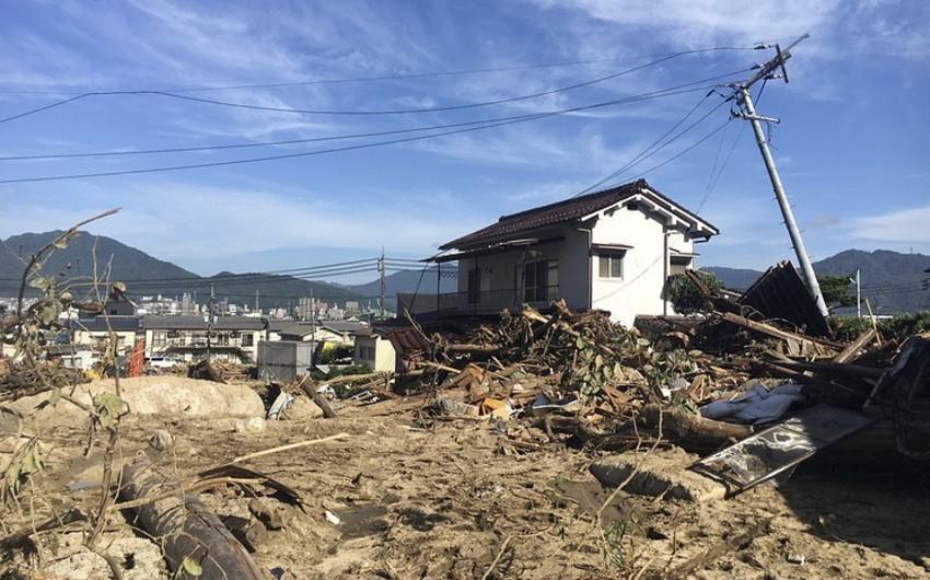 Yaponiyada leysan yağışları qurbanlarının sayı 204 nəfərə çatıb