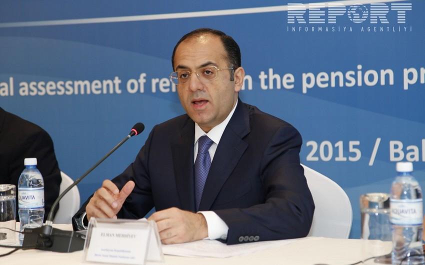 Elman Mehdiyev: Bu il bütün əmək pensiyalarının maliyyələşdirilməsi qrafikdən əvvəl tam başa çatıb