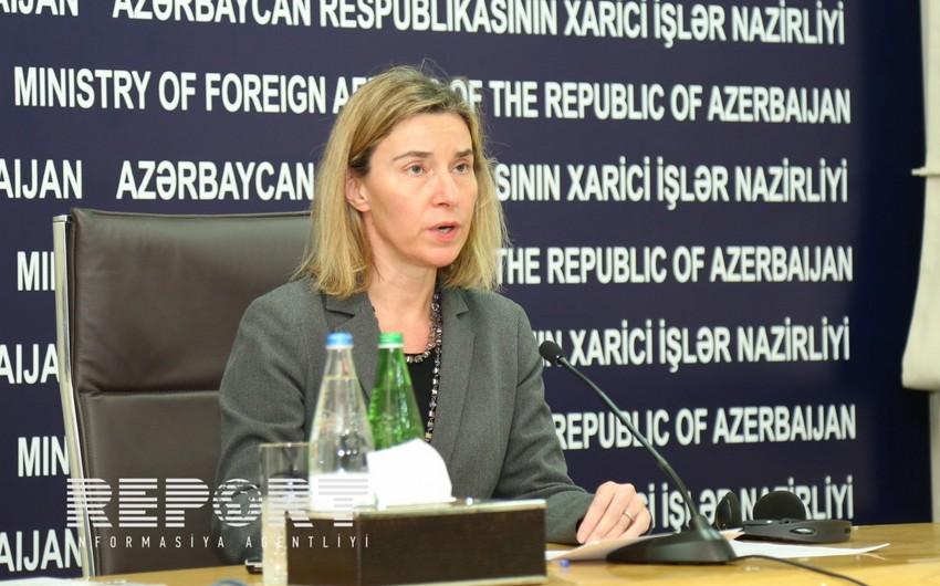 Federika Mogerini: Aİ Azərbaycanın ərazi bütövlüyünü və suverenliyini dəstəkləyir