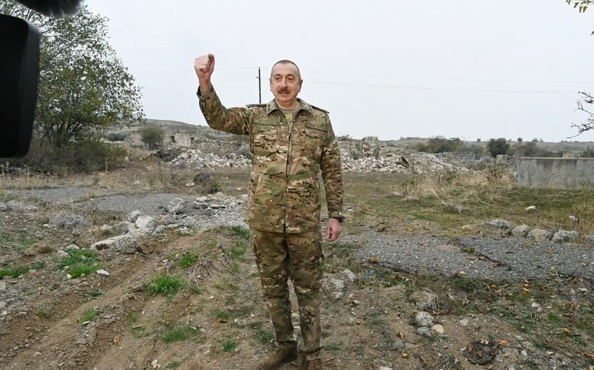 Prezident: Şuşanın azad edilməsi Ermənistan ordusunun və Ermənistan dövlətinin çökməsi demək idi