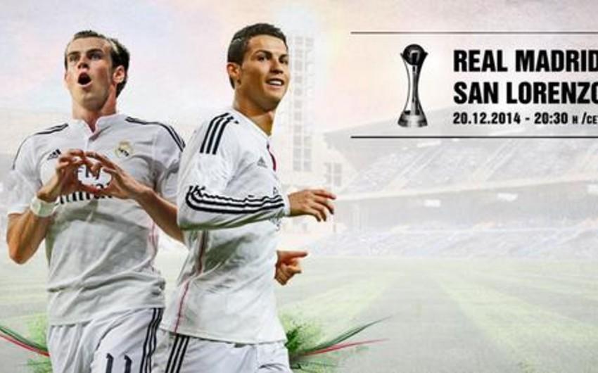 Real Madrid klublararası dünya çempionatının qalibi oldu