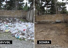 """""""Report""""un süjeti problemin həllinə yardım etdi: zibillik tam yığışdırıldı"""